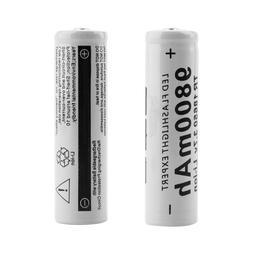 1/2/4/6/8/10 Gray CN 18650 9800mAh Lithium <font><b>Recharge