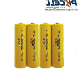 1.2V AA 1000mAh NI-CD Rechargeable Battery Button Top for So