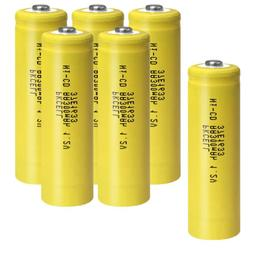 1.2v AA 300mAh Ni-Cd Rechargeable Battery for Garden Solar L
