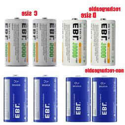 1.2V Ni-MH ALKALINE C D Size Rechargeable Batteries Battery