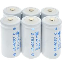 1-8pcs D Size <font><b>Battery</b></font> D-<font><b>Type</b