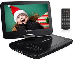 DBPOWER 10.5' Portable DVD Player with Rechargeable Battery,