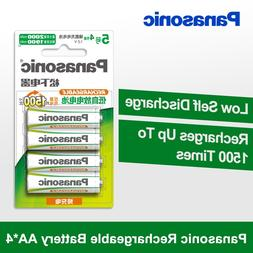 Panasonic 100% Original AA <font><b>Battery</b></font> 4PCS/