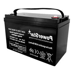 100Ah 200Ah 12V Deep Cycle Pure AGM Battery Rechargeable Sol
