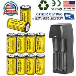 2800mAh Batteries CR123A 16340 Rechargeable Li-ion Battery f