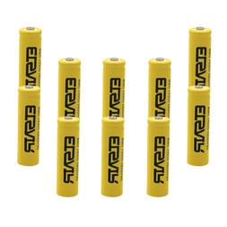 10pcs ETSAIR 2800mAh 14500 Battery Rechargeable Li-ion Lithi