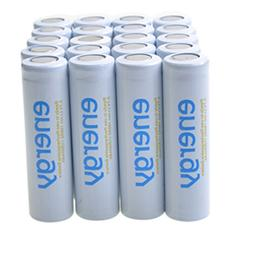 20x 3.7V Li-ion Flat Top Torch LED Rechargeable Battery