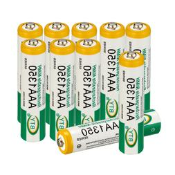 10Pcs Batteries AAA 1350mAh Ni-MH BTY Rechargeable Battery f