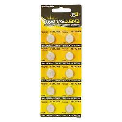 10pk Exell EB-L1131 Alkaline 1.5V Watch Battery Replaces AG1