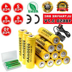10X 8X 4X Counts Rechargeable AAA Battery Home Basic 9990mAh
