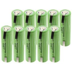 10x Exell 1.2V AA Size 2200mAh NiMH Rechargeable Batteries