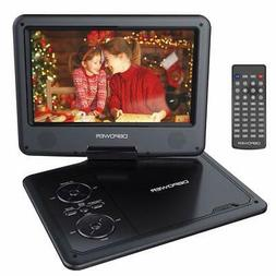 """DBPOWER 11.5"""" Portable DVD Player 5-Hour Built-in Rechargeab"""