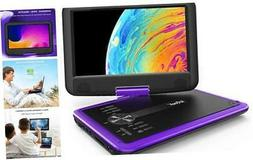 "11.5"" Portable DVD Player with SD Card/USB Port, 5 Hour Rech"