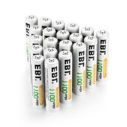 EBL 1100mAh AAA Rechargeable NiMH Battery for Camera Flashli