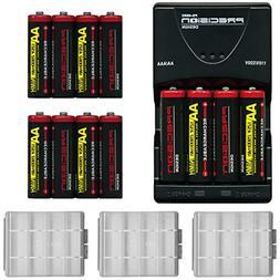 Precision Design  2900mAh AA NiMH Rechargeable Batteries &