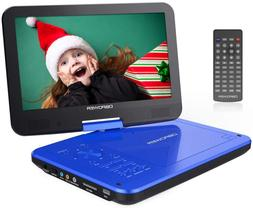 """DBPOWER 12"""" Portable DVD Player with 5-Hour Rechargeable Bat"""