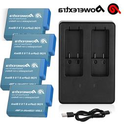 1220mAh Rechargeable battery + Dual Charger for GoPro Hero 8