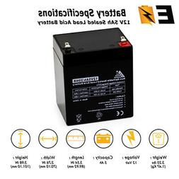 12V 5AH Sealed Lead Acid Battery for Alarm System, Home Secu