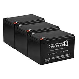 12V 12AH Replacement Battery for Enduring 6FM12, 6-DW-12 - 3