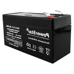 PowerStar 12V 1.3Ah SLA Battery Rechargeable AGM replaces UB
