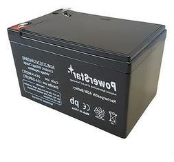 12V 12AH Sealed Lead Acid Battery for Goal Zero Yeti 150 Sol