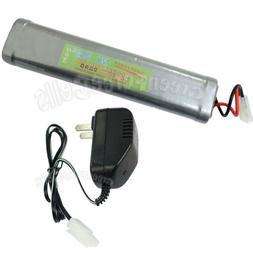 12V 3800mAh NiMH Rechargeable Battery Pack with Tamiya Plug