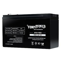 ExpertPower 12V 7AH/20HR Battery ExpB Replacement for 7Ah or