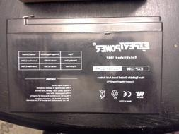 ExpertPower 12V 9Ah EXP1290 Sealed Lead Acid Battery replace