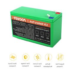 12v Battery Pack Powerful 20A Li-ion Rechargeable Batteries
