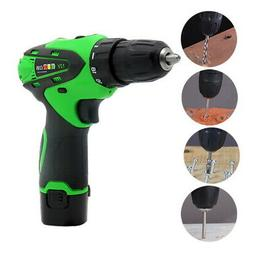 12V Battery/Rechargeable Operated Cordless Electric Screwdri