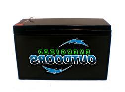 12V LiFePO4 10Ah Lithium Battery - Electronic Bicycle Ebike