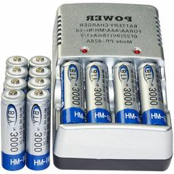 12x AA 2A 3000mAh 1.2 V Ni-MH BTY Rechargeable Battery Cell+