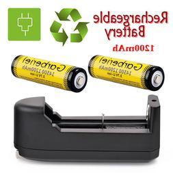 Garberiel 14500 3.7V Li-Ion 1200Mah Rechargeable Battery Ele