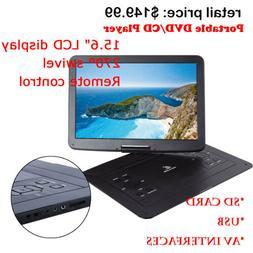 15 portable cd dvd player hd widescreen