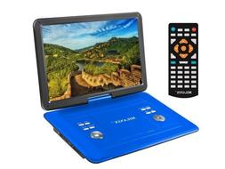 15 portable cd dvd player hd widescreen