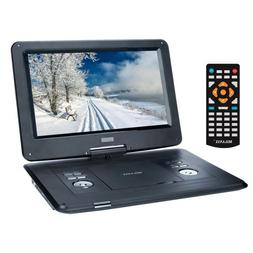 15'' Portable MULTI REGION CD/DVD Player, HD Widescreen