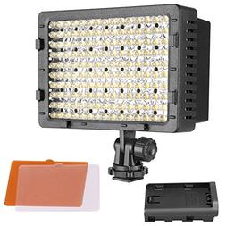 NEEWER 3-Pack 160 LED CN-160 Dimmable Ultra High Power Panel