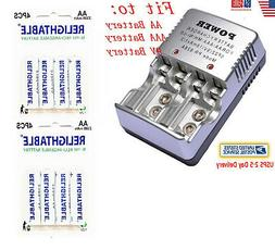 16x AA Solar battery batteries Bulk Rechargeable Ni-Cd 800mA