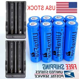 18650 Battery 3.7V 6000mAh Li-ion Rechargeable Batteries for