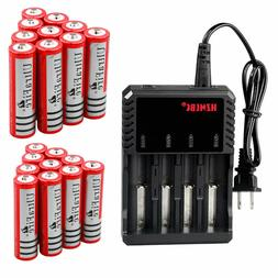 18650 Battery 3.7V Li-ion 4200mAh Rechargeable Batteries For