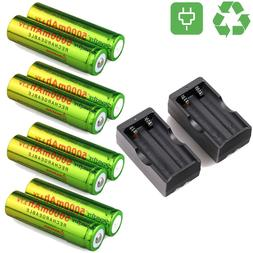 Skywolfeye 18650 Battery 5000mAh 3.7V Li-ion Rechargeable Ba