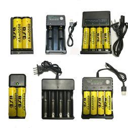18650 Battery 9800mAh Battery 3.7V Li-ion Rechargeable Batte
