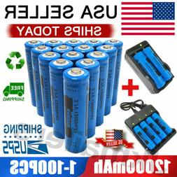 18650 Battery GTL 12000mAh Fire Li-ion 3.7V Rechargeable For