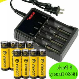 18650 battery li ion 3 7v rechargeable