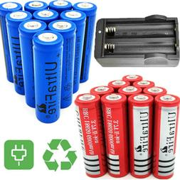 18650 Battery Li-ion 3.7V Rechargeable Batteries For Flashli