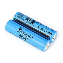 UltraFire 18650 Battery 2200mAh MAX 3.7V Rechargeable Batter