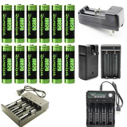 Skywolfeye 18650 Rechargeable Battery Li-ion Battery With Sm
