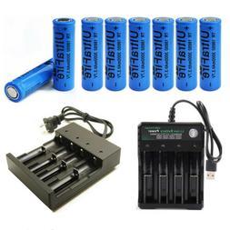 18650Flat Top Rechargeable Battery 3000mAh 3.7V Li-ion 18650