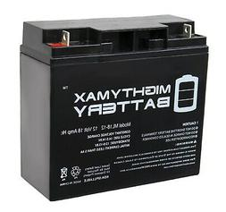 Mighty Max ML18-12 - 12V 18AH Replacement UPS Battery for Po