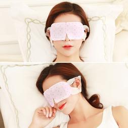 1Pc Steam Warm Eye Mask Patch Wormwood Hot Soothing <font><b